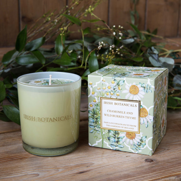 Chamomile & Wild Burren Thyme Candle