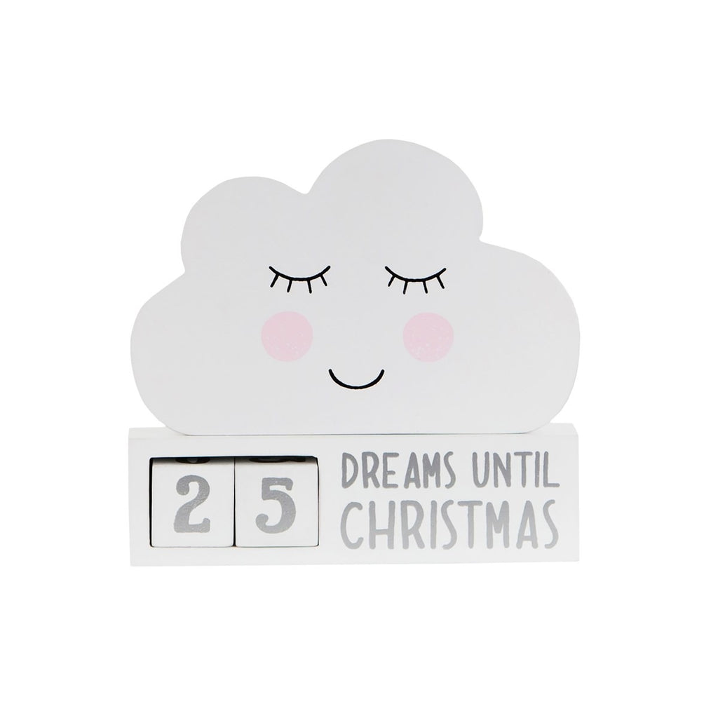 DREAMS OF CHRISTMAS COUNTDOWN BLOCK