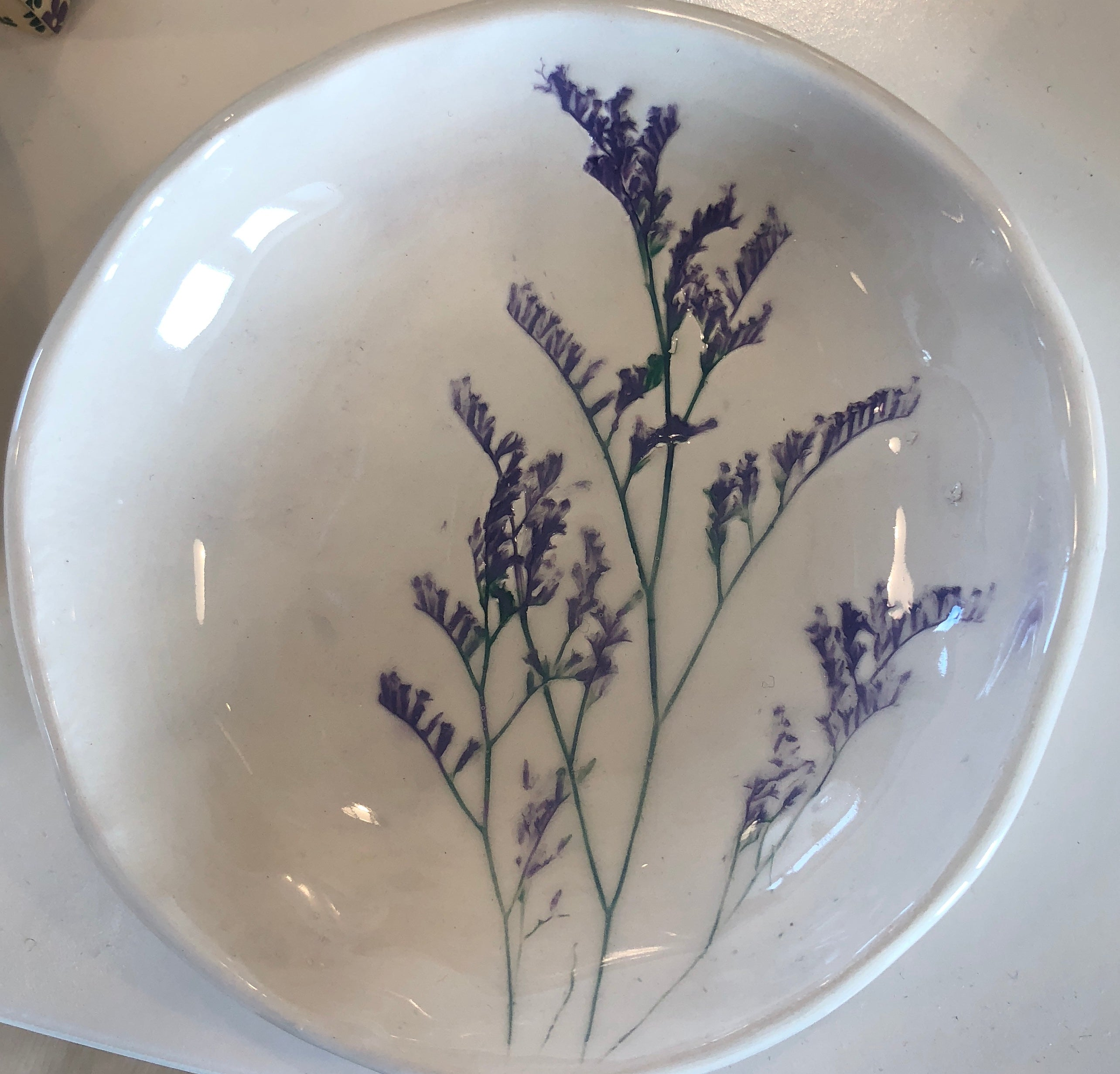 Small Wildflower Ceramic Bowls - handmade in Ireland