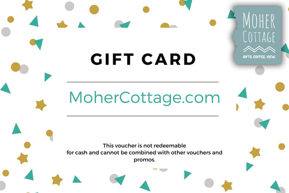 Moher Cottage Gift Card / Gift Voucher