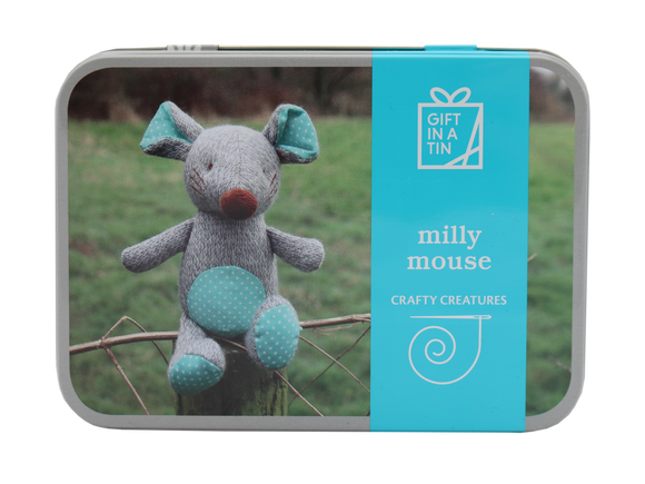 Create Your Own Milly Mouse - Gift In A Tin