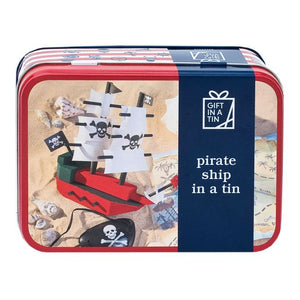 Pirate Ship - Gift In A Tin