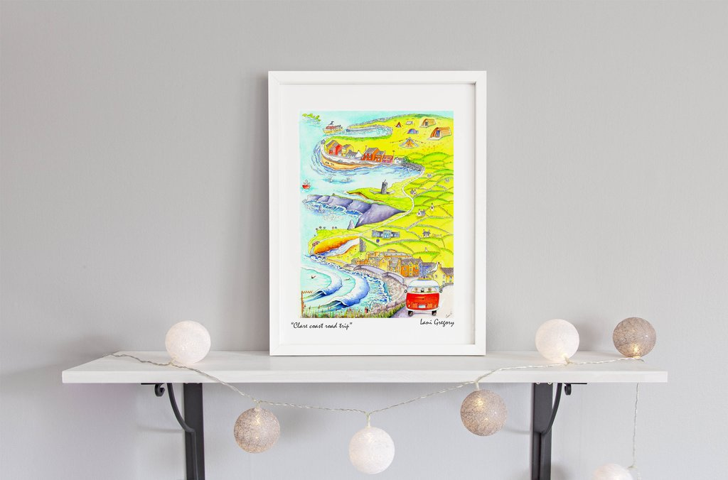 """Clare Road-trip"" Limited edition Print"