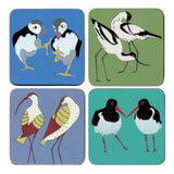 Contemporary Seabirds Placemat and Coaster Sets