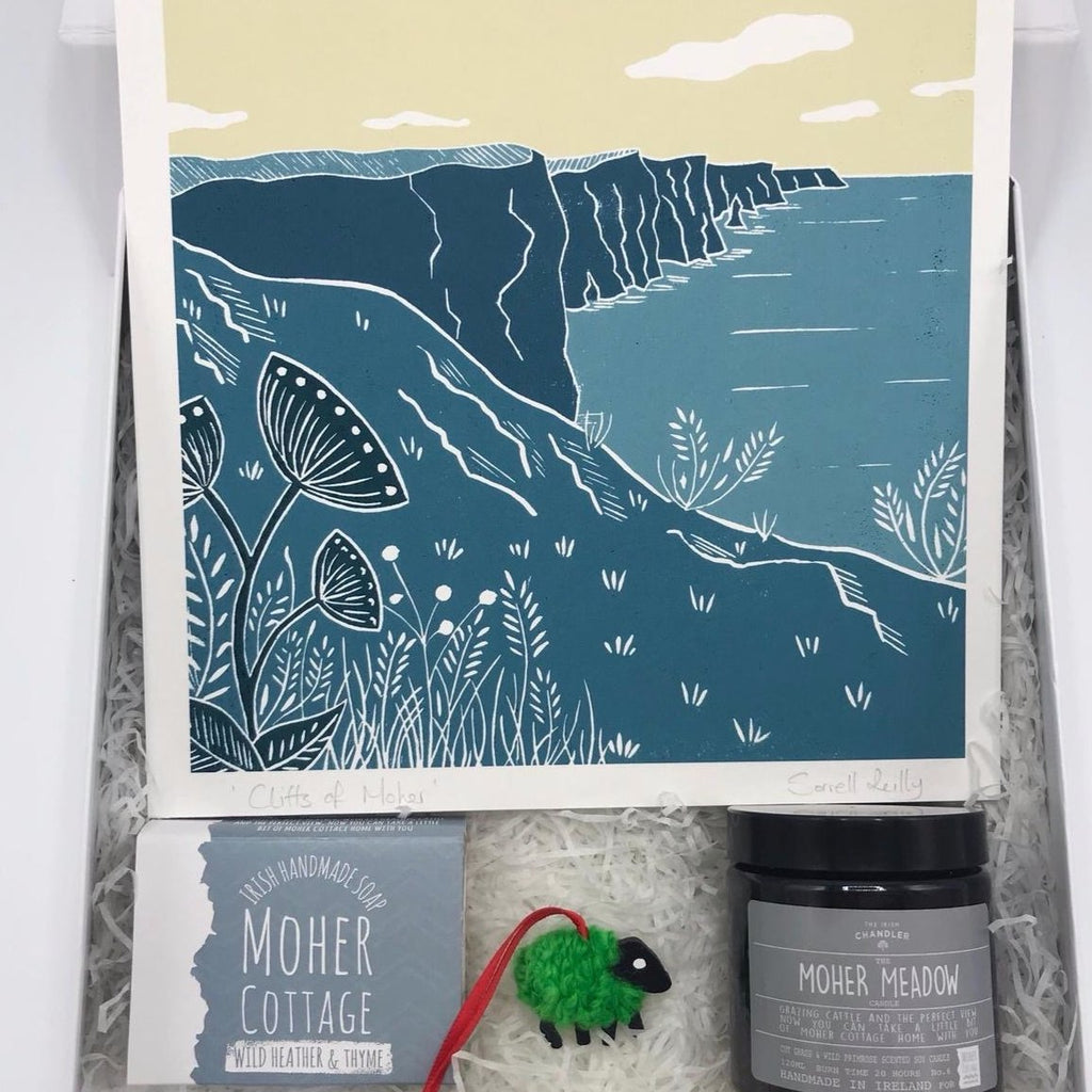 Moher Cottage Memories - Irish Made Gift Box