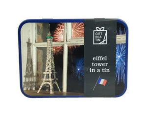 Eiffel Tower in a Tin - Gift In A Tin