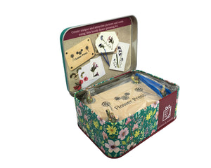 Flower Pressing Kit - Gift In A Tin