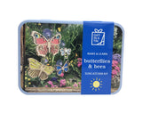 Butterflies and Bees Sun Catcher Kit - Gift In A Tin