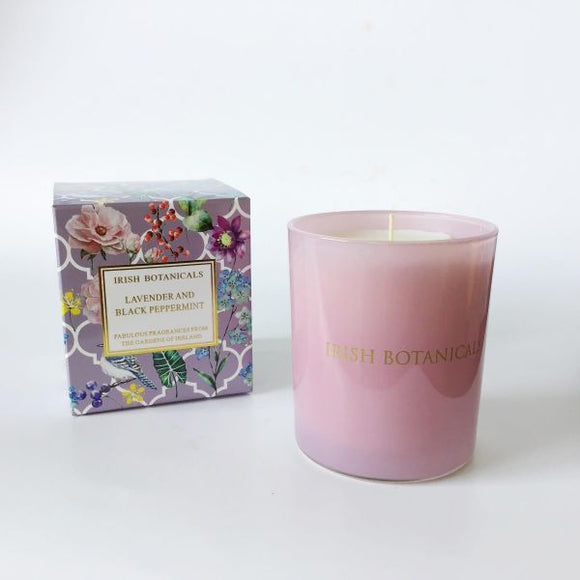 Lavender & Black Peppermint Candle