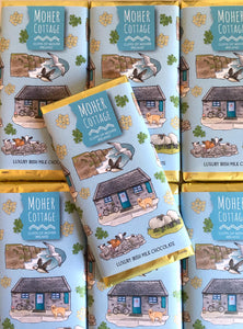 Moher Cottage Luxury Irish Chocolate Bars