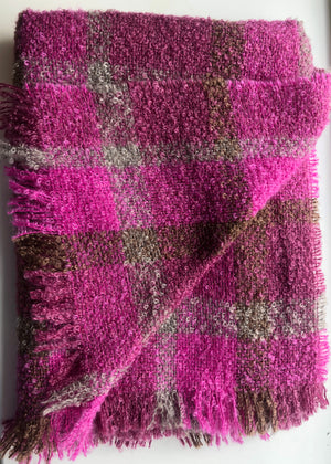 Cushendale Bouclé Mohair Knee Throws