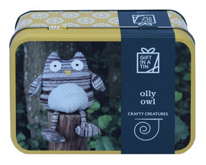 Olly Owl Craft Set - Gift In A Tin