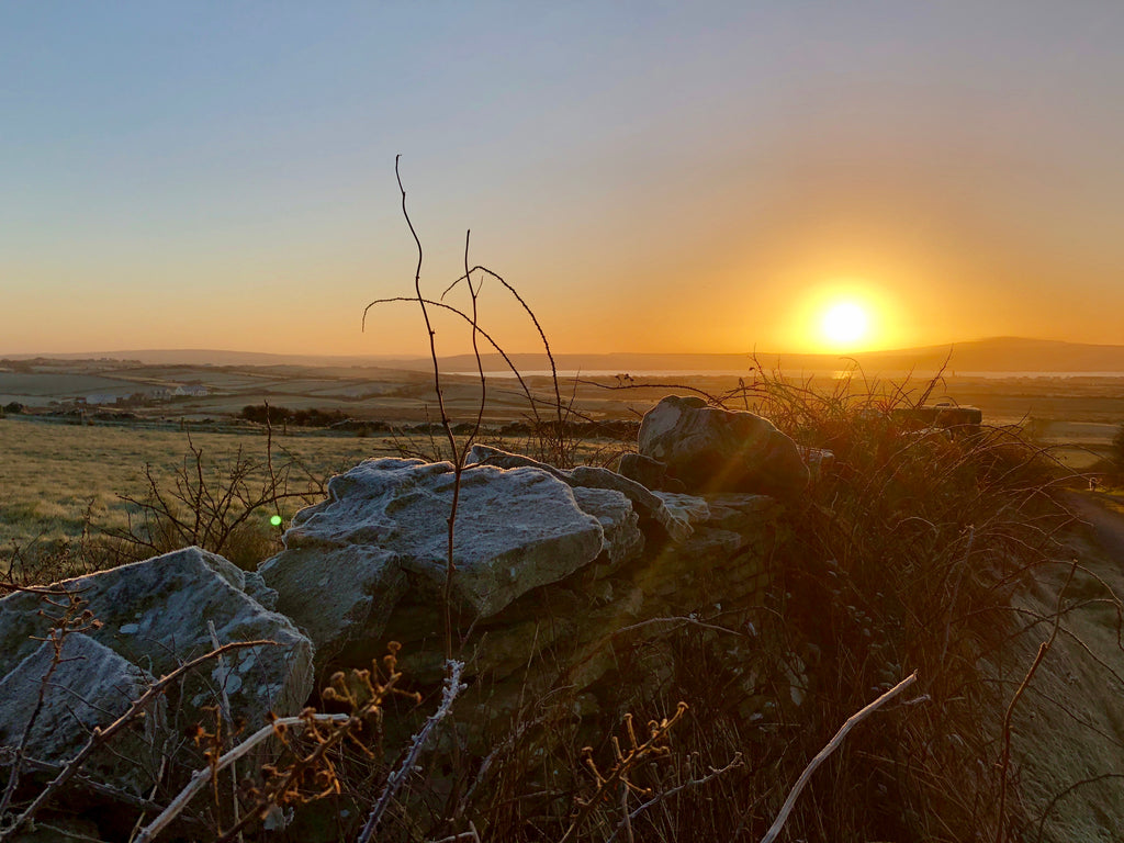 LISCANNOR WINTER SUNRISE PHOTO PRINT