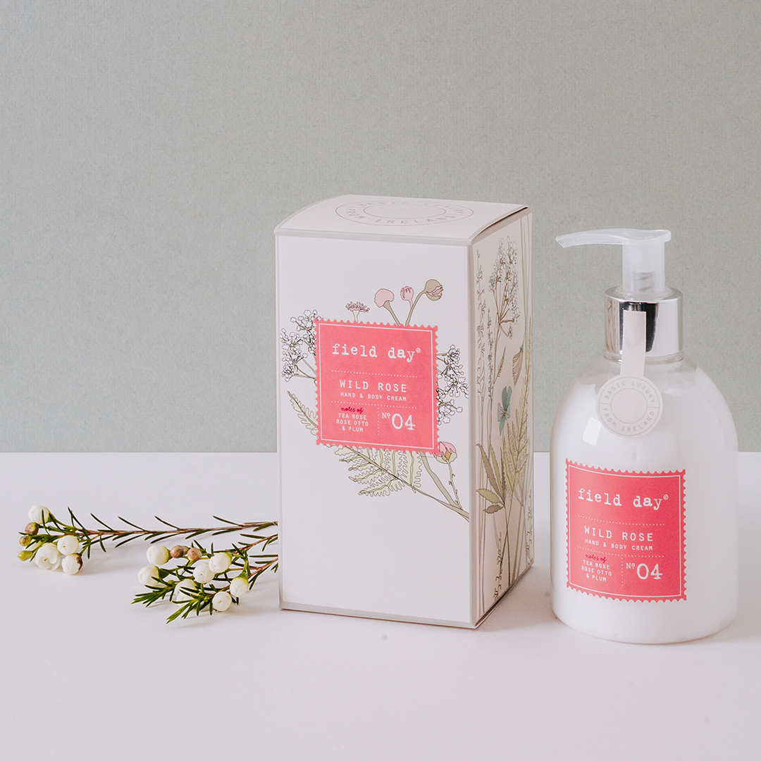 Wild Rose Hand and Body Cream - Field Day