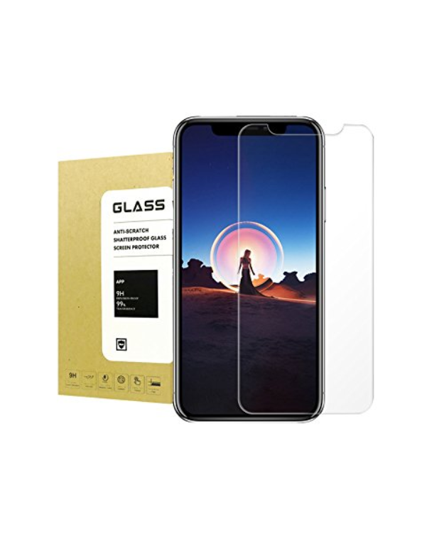 2Pcs Tempered Glass Screen Protector 9H Hardness 3D Touch HD Screen for Apple iPhone X