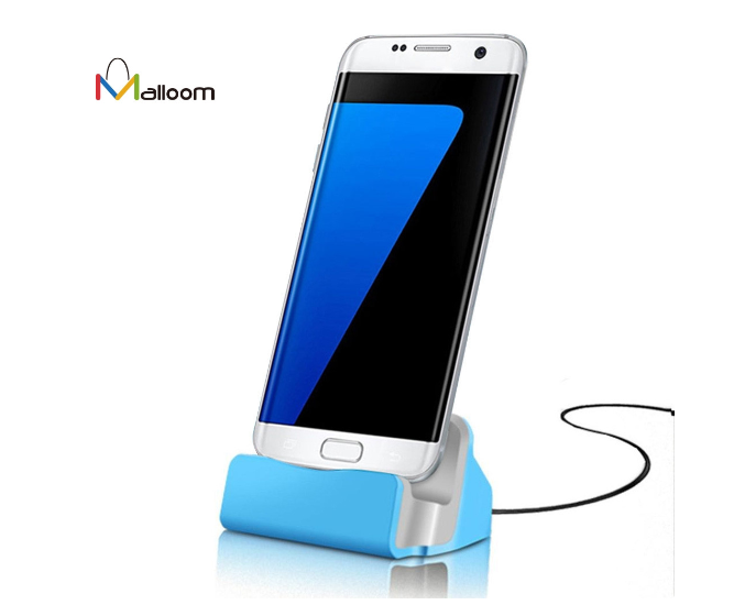 Universal Micro USB Traveler Charger Cradle Docking Station For iPhone Samsung & Other Smartphones
