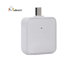 Mini Card USB Reader SD/TF/MMC 2 In 1 V8 OTG TF/SD Smart Card Reader Adapter For Android Smartphone
