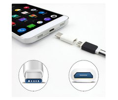 Top Quality USB 3.1 Type-C Male Connector to Micro USB 2.0 5Pin Female Data Adapter Converter Connector USB-C