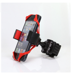 Universal Bicycle, Motor Cycle, Stroller Handlebar Phone Holder For iPhone Android & GPS