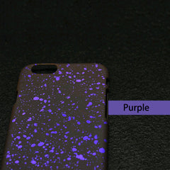 Fashionable 3D Cover Ultra thin Frosted Starry Sky Phone Case for iPhone 5s SE 6 6s 7 7 Plus