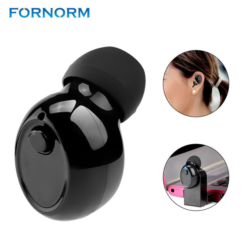 1pcs Mini Bluetooth 4.1 Earbud Earphones Headphone Hands-free Call