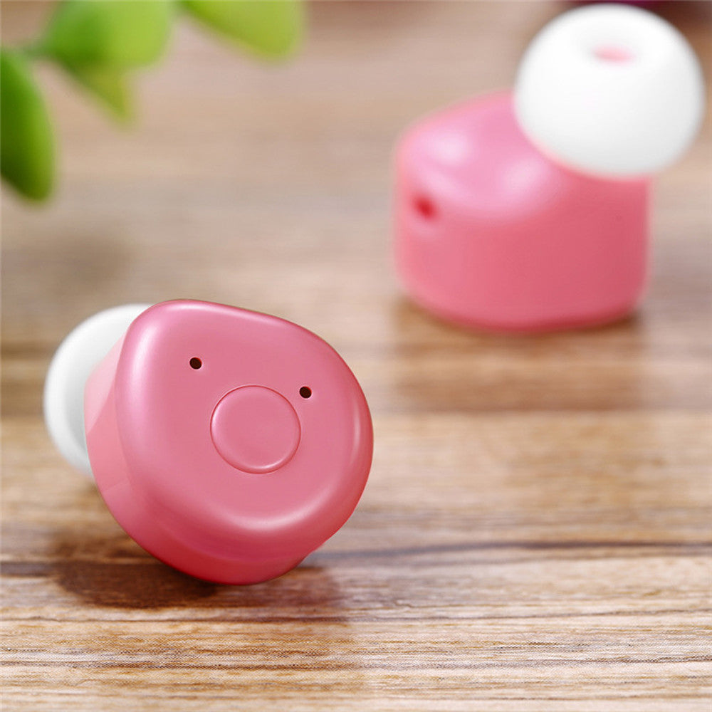 Universal Mini Twins Bluetooth True Wireless In Ear Stereo Earphones Headset
