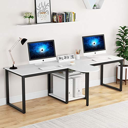 94.5 inch Two Person Desk Extra Long Modern