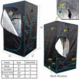 Hydro grow tent LED 1680d mars 150*150*200cm for hydroponics grow box grow system