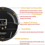 Robot vacuum cleaner long working time never touch charge base sonic wall low noise vacuum cleaner for home