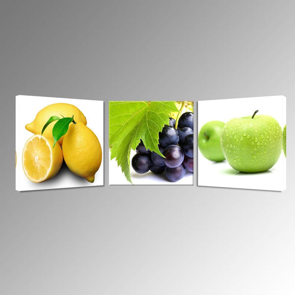Fruits canvas digital print for kitchen decoration giclee artwork dinning hall ready to hang