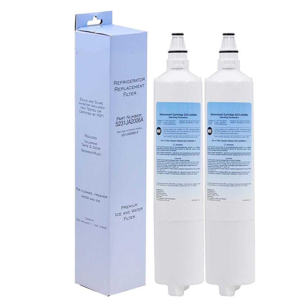 Water purifier refrigerator filter replacement household 2 pcs/lot