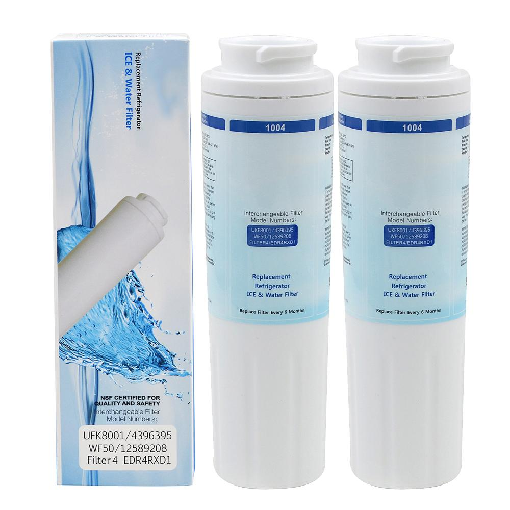 Refrigerator water filter household activated carbon replacement 2 pcs/lot