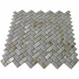 "Tile for shower 6-pack mop shell wall 12"" x groutless subway"
