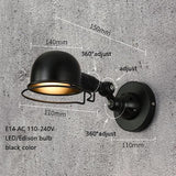 Wall lamp classic nordic loft industrial style adjustable jielde vintage sconce wall lights LED for living room bedroom bathroom