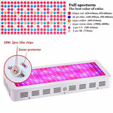 LED grow light full spectrum diamond 300w 600w 800w 1000w 1200w 1500w 1800w 2000w double chip red/blue/uv/ir for indoor plants