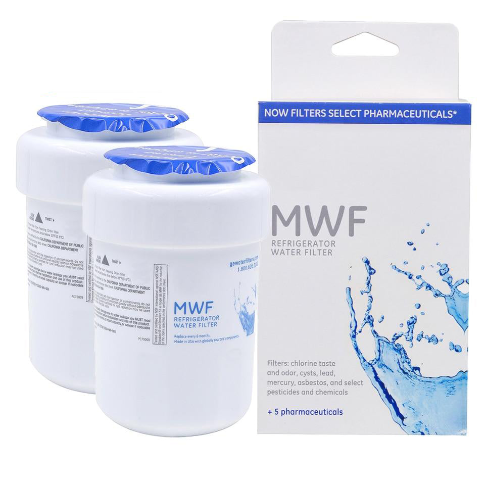 Water purifier mwf refrigerator filter cartridge household replacement 2 pcs/lot