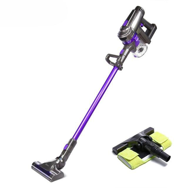 Vacuum cleaner f6 2-in-1 cordless handheld upright stick machine with mop for carpet hardwood floor cyclonic filtration
