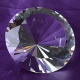 Clear crystal large diamond 200mm wedding decoration centerpieces gifts
