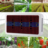 LED grow light full spectrum 400w red/blue/white/uv/ir ac85~265v smd 5730 plant lamps for growing flowering