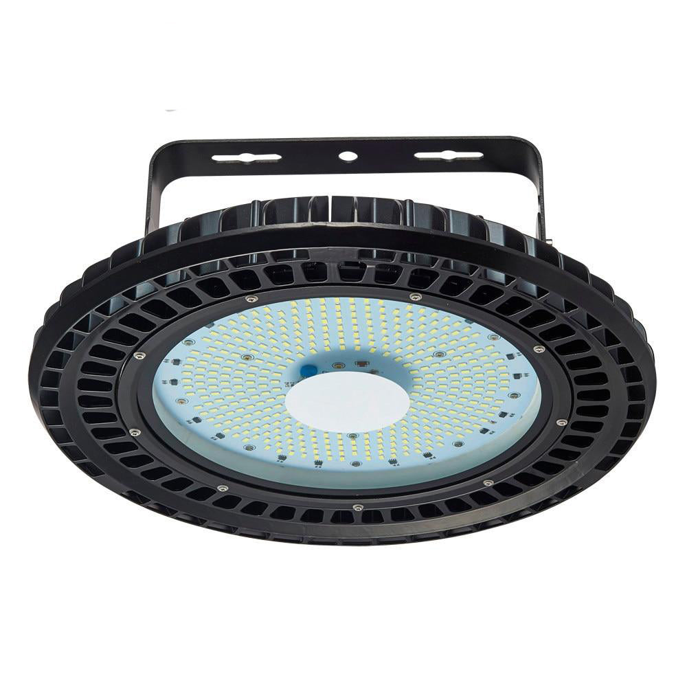 LED high bay light Ufo 2pcs 110v 200w industrial lamp factory warehouse shed lighting commercial shop