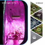 LED grow light hydro reflector 300w full spectrum indoor hydroponic systems veg flowers plant growing