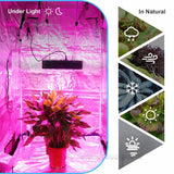 LED grow light hydro full spectrum mars ii 400w with ir lamp for indoor box growing plant