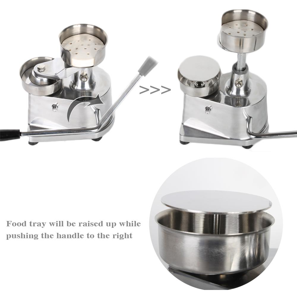 Manual hamburger press meat machine aluminum alloy patty maker 100mm/130mm diameter
