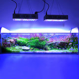 "LED aquarium light fixture 36""""x28"""" full color spectrum saltwater coral fish tank grow freshwwater plant extendable pond"
