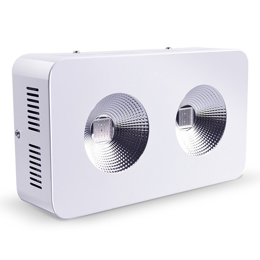 LED grow light dominator 300w/600w/1200w/1800w/2700w full spectrum cob 410-730nm with big lens for indoor all plants
