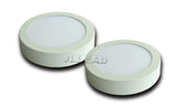 LED panel ceiling light 20pcs/lot 12w 24w round down ac100-277v 1150lm/2300lm surface mounted kitchen lamp