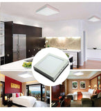 "Square LED light 20 pack panel 6.772""""x1.575"""" 12w 11.811""""x1.575"""" 24w surface mounted ceiling down ac110-277v"