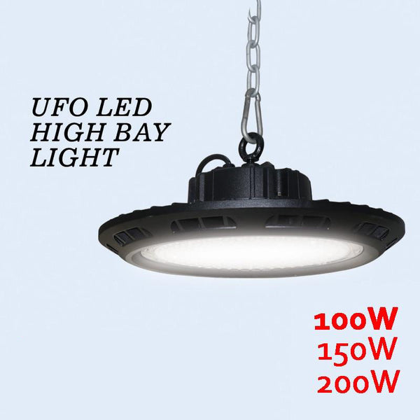 LED high bay light 100w 150w 200w ip65 in industrial lighting outdoor led spotlight floodlights waterproof ufo