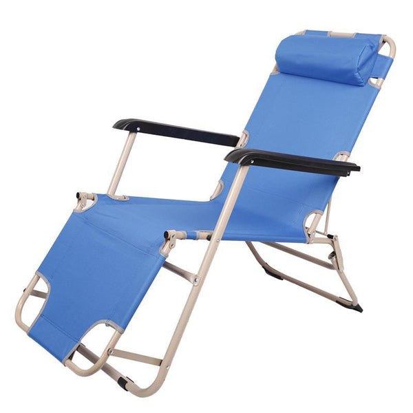 Sun loungers outdoor folding recliner beach chair lounge chairs adjustable portable garden deck