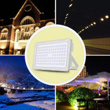 LED flood light 250w 110-240v power 384 30000lm reflector waterproof lamp spotlight outdoor garden lighting